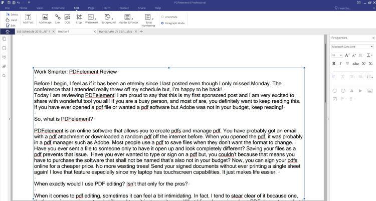 PDFelement Create PDF Shika's College Lifestyle Blog